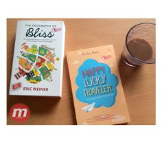 The motivational books for travelers   order >> mizanstore.com  - The Geograpy of Bliss   - Happy Lucky Traveler