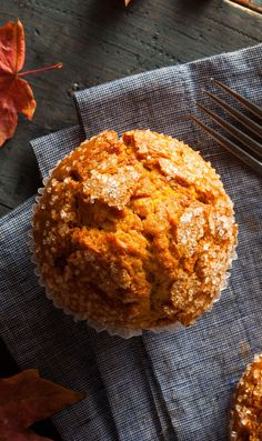 Gluten Free Pumpkin Apple Muffin / @arrowheadmills #bakeitforward
