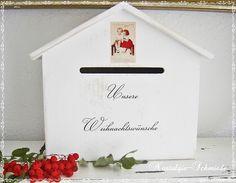Weiteres - Box Wunschzettelbox - ein Designerstück von Nostalgie-Schmiede bei DaWanda