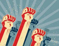 The fist of revolution