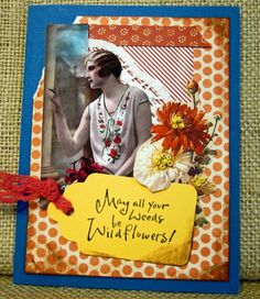 Wendylynn's Paper Whims: Spring Wildflowers Card