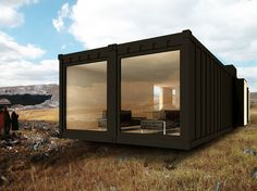 Container Living #EcoHomes >> Visit us for more info at http://wiselygreen.com/diy-container-home-q-and-a/