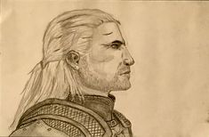 The Witcher 3 Geralt - Drawing by HeroofTime123