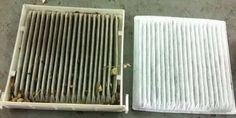 Pour enlever les mauvaises odeurs à l'intérieur de votre voiture, enlevez et changez le filtre à air de l'habitacle.