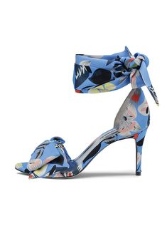 Marita Print Sandals | Custommade.dk Spring Fashion, Kitten Heels, High Heels, Ankle, Band, Sandals, Leather, Shoes, Fashion Spring