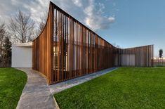 Pavillion for tourist hospitality in Arzergrande, Veneto, 2014 - 3ndy Studio