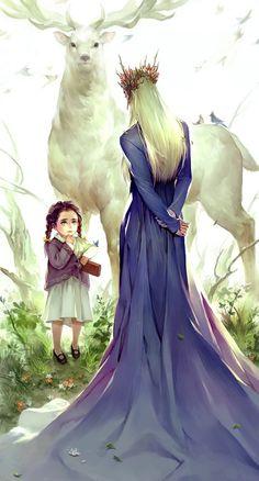 Alexandria and Thranduil--- #thefall #hobbit