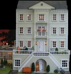 I had a victorian dollhouse when I was a little girl, but it wasn't as perfect as this! LOVE it.