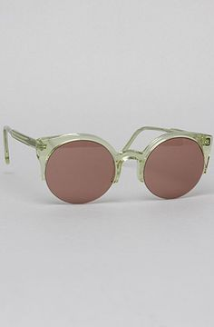 The Lucia Sunglasses in Light Green by Super Sunglasses #MissKL and #SpringtimeinParis