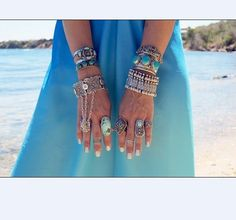 Gypsy Boho Coachella Belly Dancer Antalya Alloy Coin Bracelet Festival Turkish #new #Statement