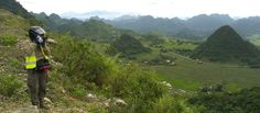 Vietnam Motorbike Tour to Mai Chau. This is best short motorcycle tour from Hanoi. Only 2 day but we can see the incredible mountain views in northwest Vietnam.