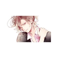 Ask The Mukami Brothers ❤ liked on Polyvore featuring diabolik lovers, drawings and people