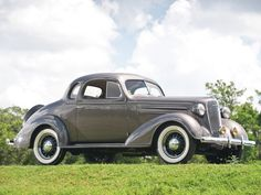 1936 Chevrolet Master DeLuxe Coupe.