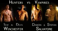 This really isn't fair. I don't think anyone has a chance of beating them.   Supernatural wins. Always. The end.