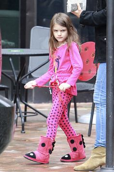 HA! Suri Cruise is the best celeb kid ever.