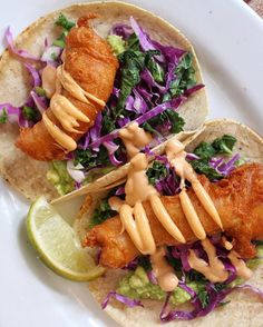 Some of the best crispy fish tacos in the game Be sure to check out the rest of @seamoresnyc's new winter menu #TacoTuesday #IndulgentEats