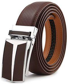Bulliant Belt for Men,Bulliant Men s Click Ratchet Belt Of Genuine leather  trim to fit b44782286ef