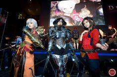 launch event cosplay in Korea