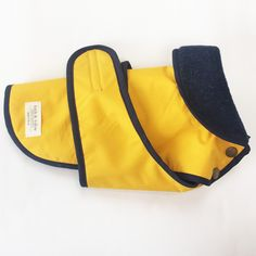 Yellow Wet Weather Dog Jacket