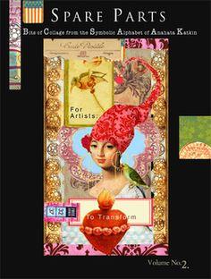 Spare Parts 2 Surreal Collage, Collages, Papaya Art, Leelah, Glue Book, Mail Art, Spare Parts, Mixed Media Art, Mini Albums