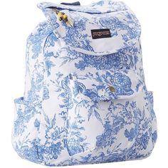 JanSport Break Town ($45) ❤ liked on Polyvore featuring bags, backpacks, backpack, drawstring bag, drawstring backpack bags, zip bags, notebook backpack and jansport backpack