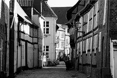 A street in Ribe, Denmark  (by Ben_from_Dk)