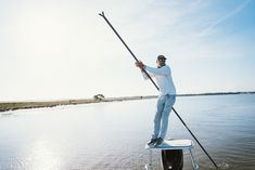 """""""The fish are coming on the left, probably going to be a 10:30 shot,"""" David Mangum, salt water fishing guide, says in a totally controlled voice. """"Ok, start that cast for me…shoot that one,"""" as his tone becomes a little more rushed."""