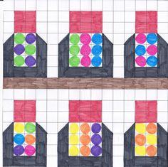 mozaiek potjes met pillen