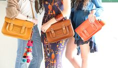 Everyone knows best material for bags is leather! But do you know that Satchel Company have amazing collections of leather bags, purses, and satchels that not only made by leather but also models that always trending every season? Anyone should at least check their collections, fashionista must have them!