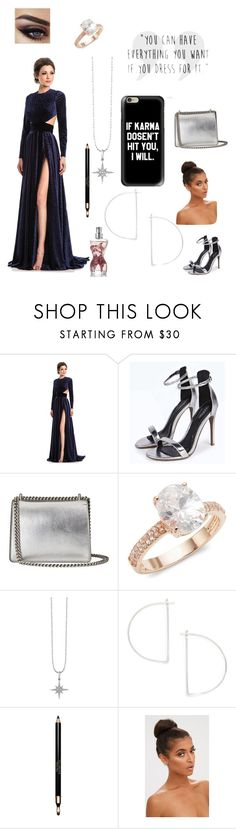 """""""Maybe one day I'll have a kingdom of mine-Stella"""" by kiarita-melo ❤ liked on Polyvore featuring Johnathan Kayne, Gucci, Saks Fifth Avenue, Sydney Evan, Clarins and Jean-Paul Gaultier"""