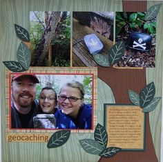 scrapbook layouts outdoor | Outdoor Scrapbooking - Camping, Travel, Beach, and Vacation Scrapbook ...