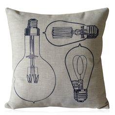 Craft idea: Stenciled Pillowcase