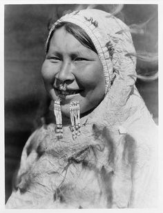 Native American Edward Curtis Nunivak Woman by griffinlb, via Flickr