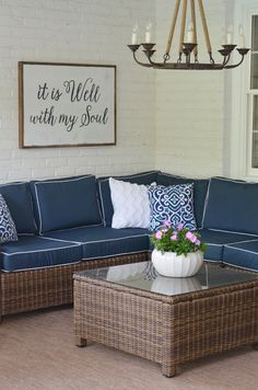 Back patio makeover REVEAL!