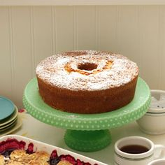 German Butter Pound Cake Recipe from Taste of Home