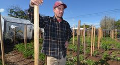 Luke Girling, owner of Cyclops Farms in Oceanside, is part of a group of local farmers asking the city to help promote agritourism.