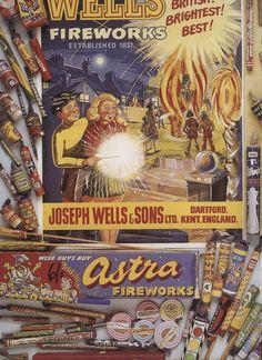 Vintage fireworks