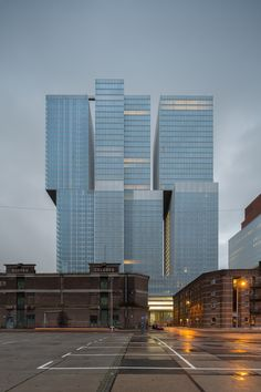 """Five Buildings Compete to be Named """"World's Best Highrise"""",De Rotterdam, Rotterdam / OMA. Image © OMA, photographer: Ossip van Duivenbode"""