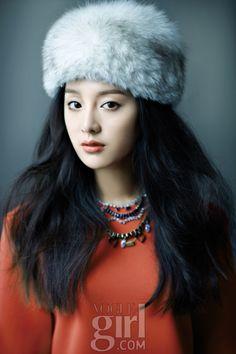 Kim Ji-won // Vogue Girl Korea // December 2011