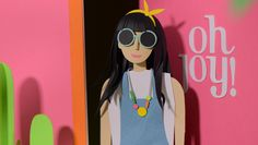 Darling paper cut animation - can't wait for the line! Oh Joy for Target / Summer Collection Coming May 25th!