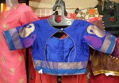 Brocade Blouse Designs, Simple Blouse Designs, Stylish Blouse Design, Designer Blouse Patterns, Blouse Neck Designs, Kurta Designs, Blouse Designs Catalogue, Neck Designs For Suits, Amai