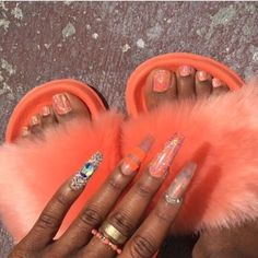 Find images and videos about вαddie✰ѕuм, uploaded by and dallas j nails on We Heart It - the app to get lost in what you love. Dope Nails, Nails On Fleek, Fun Nails, Bling Nails, Garra, Stiletto Nails, Coffin Nails, Gorgeous Nails, Nail Inspo