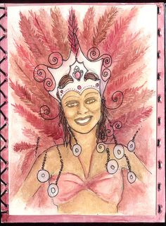 "Art Journal by Samantha_Braund, via Flickr - ""Leicester Caribbean Carnival"""