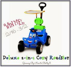 Sweepstakes Little Tikes Deluxe 2-in-1 Cozy Roadster 3/2