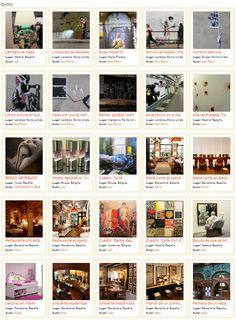 ¡Ya tenemos buscador de fotos y vídeos dedicado exclusivamente al Arte, la Decoración, y el Interiorismo!