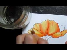 Colored Pencil Blending Methods.  How to blend colored pencils using solvents, a blender pencil, or other colored pencils.