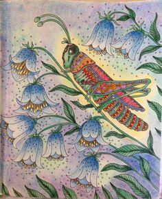 From Sommarnatt/Summer Nights by Hanna Karlzon.  Colorist is Susan Daniel