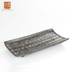 Korean & Japanese style restaurant porcelain sushi plate E438-26  Size: Length 10 inch