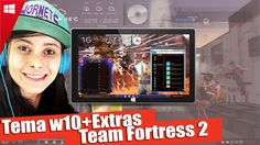 Tema Personalizado para Windows 10 |Team Fortress 2|