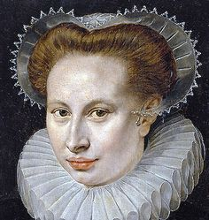Unknown lady by Frans Pourbus the Elder circa 1580